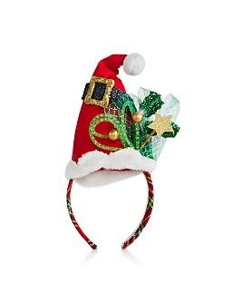 Bloomingdale's - Santa Hat Headband - 100% Exclusive