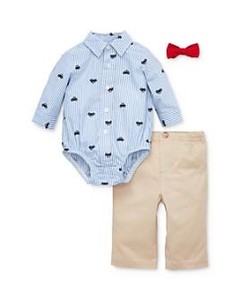 Little Me - Boys' Car Bodysuit, Pants & Bow Tie Set - Baby