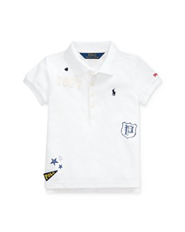 Ralph Lauren - Girls' Graphic Polo Shirt - Little Kid
