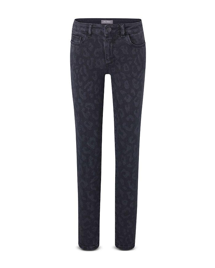 DL1961 - Girls' Leopard Print Chloe Jeans - Big Kid