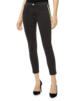 J Brand - 835 Mid-Rise Crop Skinny Jeans in Epitome