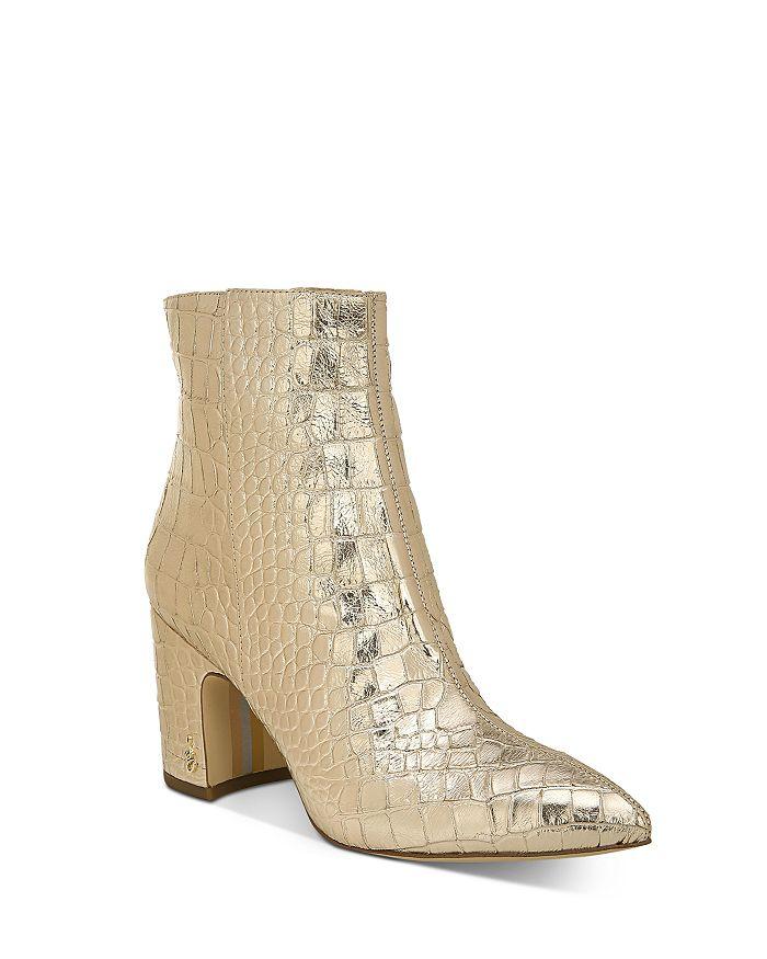 Sam Edelman - Women's Hilty Block Heel Booties