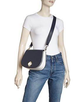 kate spade new york - Suzy Large Color-Block Saddle Bag