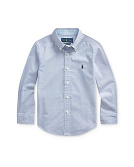 Ralph Lauren - Boys' Plaid Button-Down Shirt -Little Kid