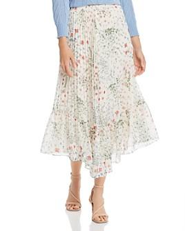 Joie - Noora Metallic Floral Skirt