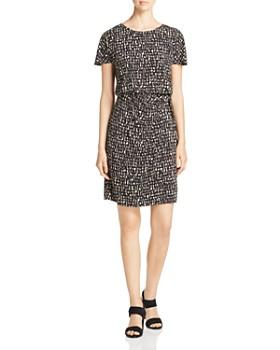 NIC and ZOE - Letterpress Twist-Waist Dress