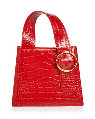 Enchanted Croc Embossed Satchel by Parisa Wang
