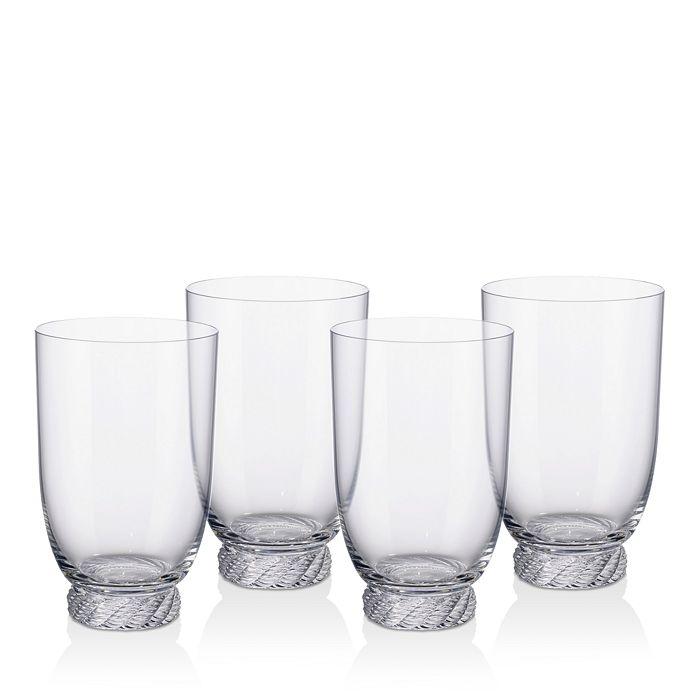 Villeroy & Boch - Montauk Highball/Tumbler Glasses, Set of 4