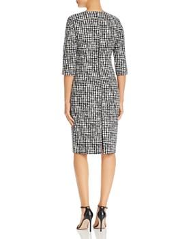 BOSS - Decka Houndstooth Sheath Dress