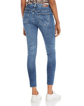 AG - Farrah Skinny Ankle Jeans in 12 Years Fluid
