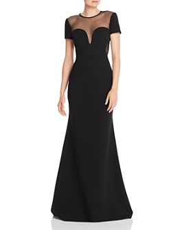 Jill Jill Stuart - Illusion Sweetheart Neck Gown