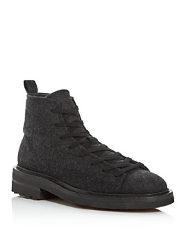 John Varvatos Collection - Men's Essex Felted Wool Trooper Boots