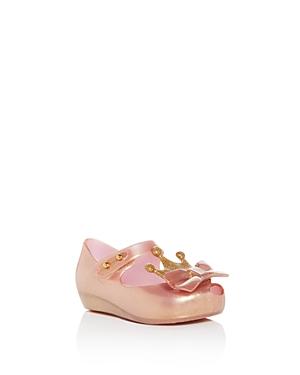 Mini Melissa Girls\\\' Ultragirl Princess Flats - Walker, Toddler