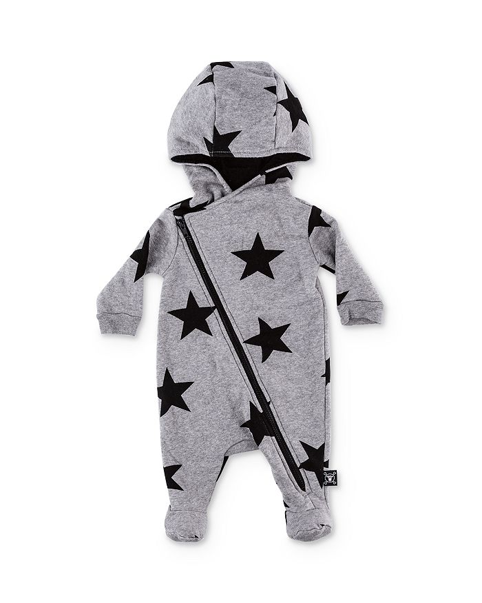 NUNUNU - Unisex Star Hooded Footie - Baby