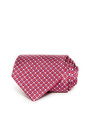 Salvatore Ferragamo - Golf Ball Tee Classic Silk Tie