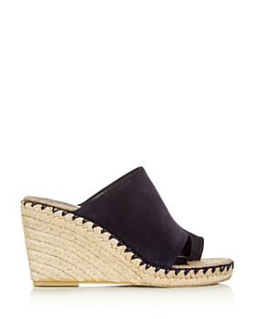 Vince - Women's Sutherland Suede Wedge Sandals