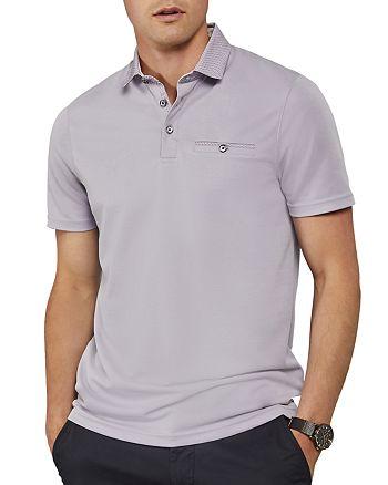 Ted Baker - Aslam Contrast Collar Regular Fit Polo Shirt