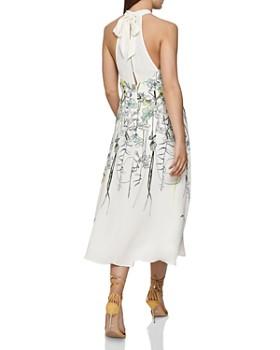 REISS - Kayla Floral-Print Midi Dress