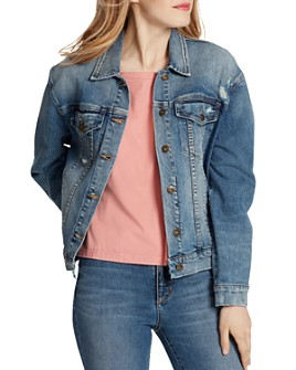 Ella Moss - Distressed Denim Jacket