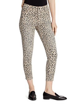 Ella Moss - High Rise Skinny Ankle Jeans in Cheetah