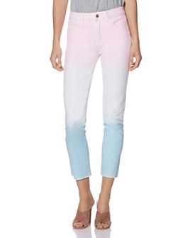 PAIGE - Hoxton Slim Jeans in Sunset Ombré