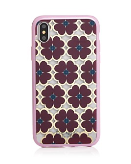 kate spade new york - Clover Graphic iPhone XS Max & XR Case