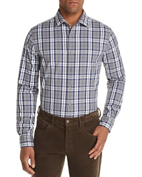 The Men's Store at Bloomingdale's - Tri-Color Plaid Classic Fit Shirt - 100% Exclusive