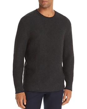 The Men's Store at Bloomingdale's - Tipped Crewneck Sweater - 100% Exclusive