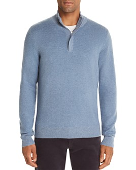 The Men's Store at Bloomingdale's - Marled Half-Zip Sweater - 100% Exclusive