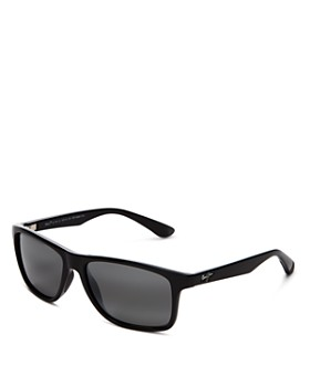 Maui Jim - Unisex Onshore Polarized Rectangular Sunglasses, 58mm