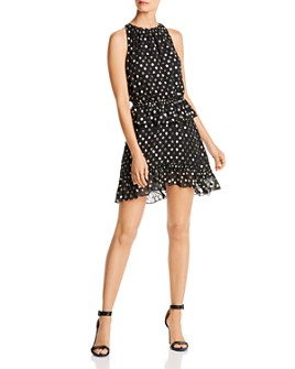 LINI - Skylar Metallic Polka Dot Dress - 100% Exclusive