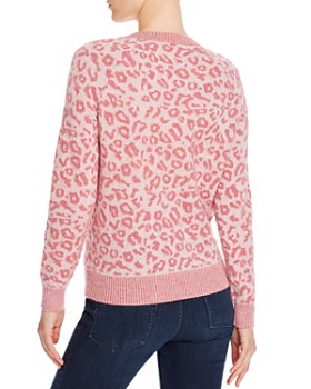 Rebecca Taylor - Leopard Print Sweater - 100% Exclusive
