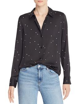 Equipment - Essential Star-Print Blouse