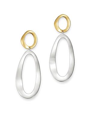 Ippolita Sterling Silver & 18K Yellow Gold Chimera Long Snowman Drop Earrings