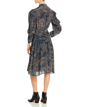 Kobi Halperin - Morgan Silk Animal-Print Dress