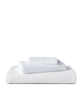 Uchino - Solid Waffle Pile Towels