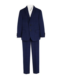 Tallia - Boys' Two-Piece Windowpane Suit - Big Kid