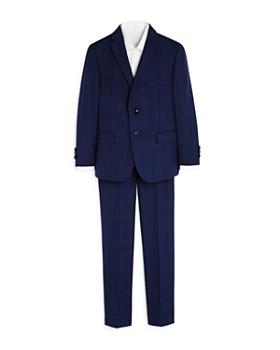 Tallia - Boys' Two-Piece Windowpane Suit - Big Kid