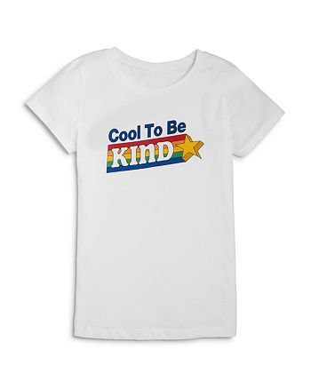Kid Dangerous - Girls' Cool To Be Kind Tee - Big Kid