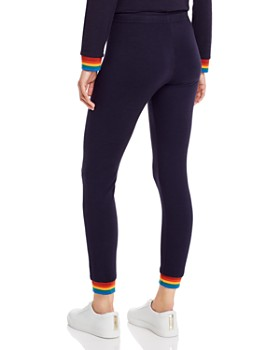 Monrow - Rainbow-Cuff Sweatpants