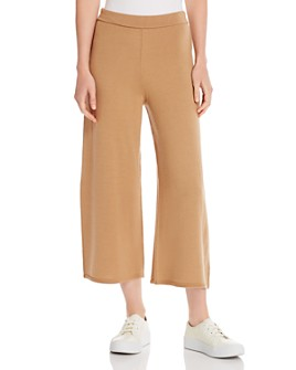 Marella - Fido Cropped Wide-Leg Pants
