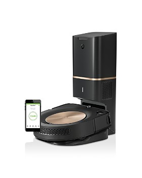 iRobot - Roomba® s9+ (9550) Wi-Fi® Connected Robot Vacuum with Automatic Dirt Disposal