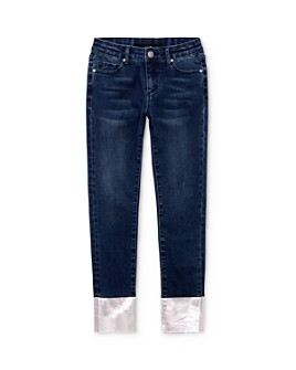 Joe's Jeans - Girls' High-Rise Metallic Charlie Fit Jeans - Big Kid