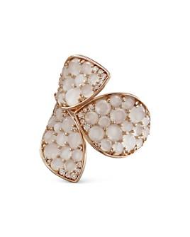 Pasquale Bruni - 18K Rose Gold Giardini Segreti Moonstone & Diamond Statement Ring