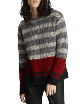John Varvatos Collection - Easy Fit Striped Sweater