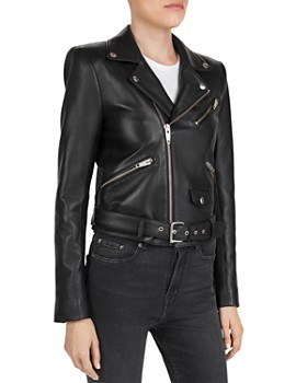 d325e54b Di Womens Leather Jacket - Bloomingdale's