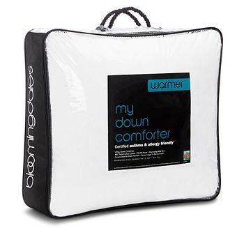 Bloomingdale's - My Warmer Asthma & Allergy Friendly Down Comforter, Queen - 100% Exclusive