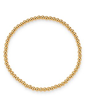 Zoe Lev - 14K Yellow Gold Beaded Stretch Bracelet