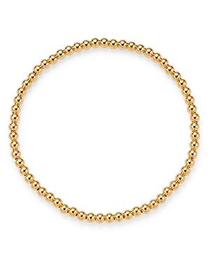 Zoe Lev 14K Yellow Gold Beaded Stretch Bracelet