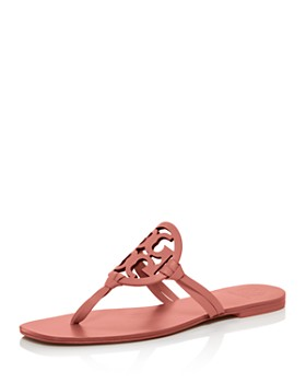 67daac9cff Tory Burch - Women's Miller Square-Toe Thong Sandals ...